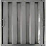 "Baffle Filter, 20"" H x 16""W, Stainless Steel"