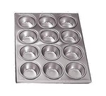 "Admiral Craft Muffin Pan, 12 cup, 14"" x 11"""