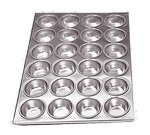 "Admiral Craft Muffin Pan, 24 cup, 20-1/2"" x 14"""