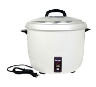 Adcraft Rice Cooker, Electric, 30-Cup Capacity