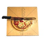 American Metalcraft Pizza Slice Cutting Board and Guide