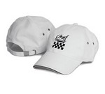 Chef Revival Chef's Baseball Cap, cotton, white