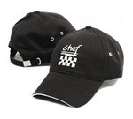 Chef Revival Chef's Baseball Cap, cotton, black