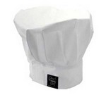 "Chef Revival Chef's Hat, 13"" tall, white"