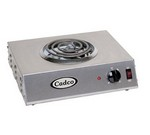 Cadco Hot Plate, 1-Burner, Electric