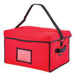 "Cambro Delivery Bag, 18"" x 14"" x 12"", Red"