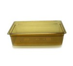 "Cambro High-temp Full x 6"" Pan, amber"