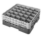Cambro Glass Rack, w/2 extenders, black
