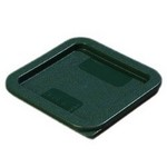 Carlisle 2/4 qt Food Container Cover, Forest Green