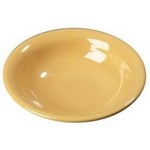 Carlisle Chef Salad/Pasta Bowl, 16oz., Honey Yellow