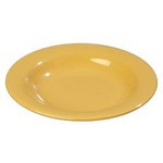 Carlisle Chef Salad/Pasta Bowl, 13oz., Honey Yellow