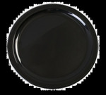 "Carlisle Dinner Plate, 9"", narrow rim,, Black"
