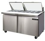 Continental Refrigeration Sandwich Prep Table, 2-Section