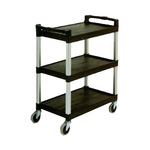 Continental Commercial Products Bussing Cart, Black