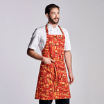 "Classic Bib Apron, One Size, ""King of the Grill"""