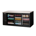 Everest Back Bar Refrigerator, 3-section