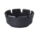 Gessner Products Deep Area Ashtray, Black