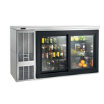 Perlick Refrigerated Back Bar Cabinet, 2-Section
