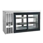 Perlick Refrigerated Back Bar Cabinet, 2-Section, Pass-Thru