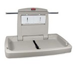Rubbermaid Changing Table, wall-mounted