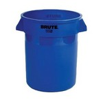 Rubbermaid Round BRUTE® Container, 20 gallon, Blue