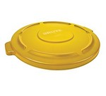 Rubbermaid BRUTE® Container Lid, for 32 gal., Yellow