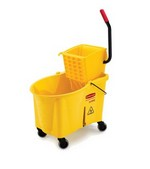 Rubbermaid Mop Bucket Combo Pack, Yellow