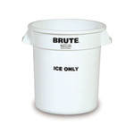 "BRUTE® ""Ice Only"" Container, 10 Gallon"