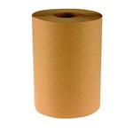 Hard-Wound Paper Towel Rolls, Natural (case of 12 rolls)