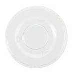 Boardwalk® Crystal-Clear Portion Cup Lids (24 sleeves of 100)