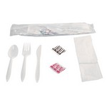 Wrapped Cutlery Kit (case of 250)
