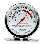 Taylor Precision Thermometer, Dial, Hot Holding