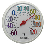 Indoor/Outdoor Dial Thermometer