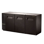 True Back Bar Cooler, 3-Section