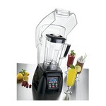 Waring Xtreme Bar Blender, 64 oz. cap., High Power, Electronic Keypad and Timer, 4 Reprogrammable Blending Staions