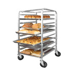 "Sheet Pan Rack, 26""H, Aluminum, Mobile"